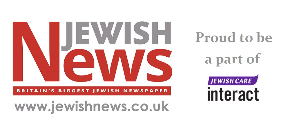 The Jewish News in audio format logo.